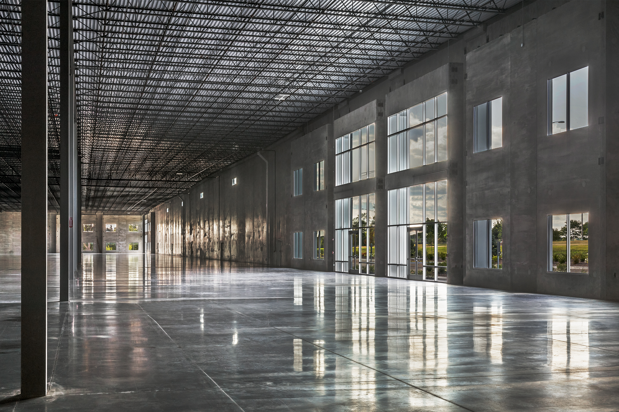 Interior of North Avenue Commerce Center